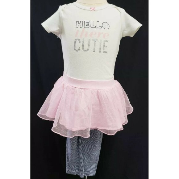 Carter's Toddler Girl's two-piece outfit - 18M